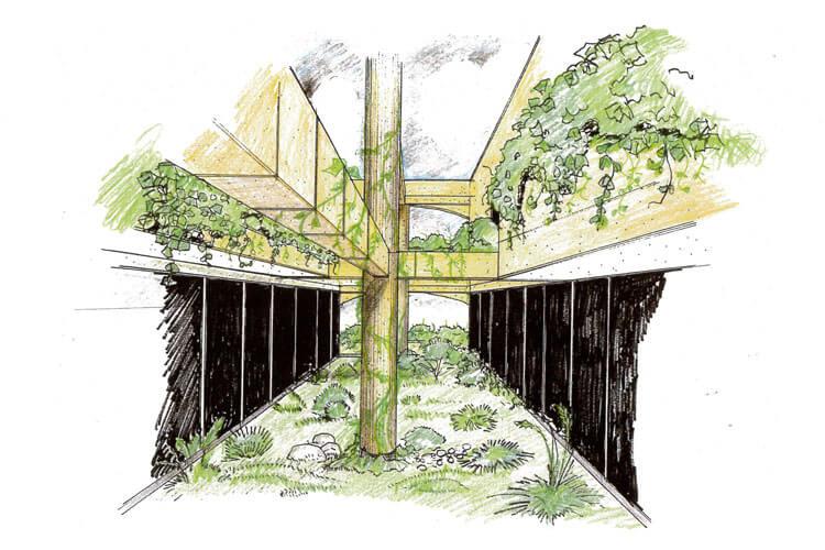 建築パース1