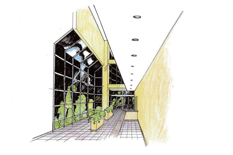 建築パース2