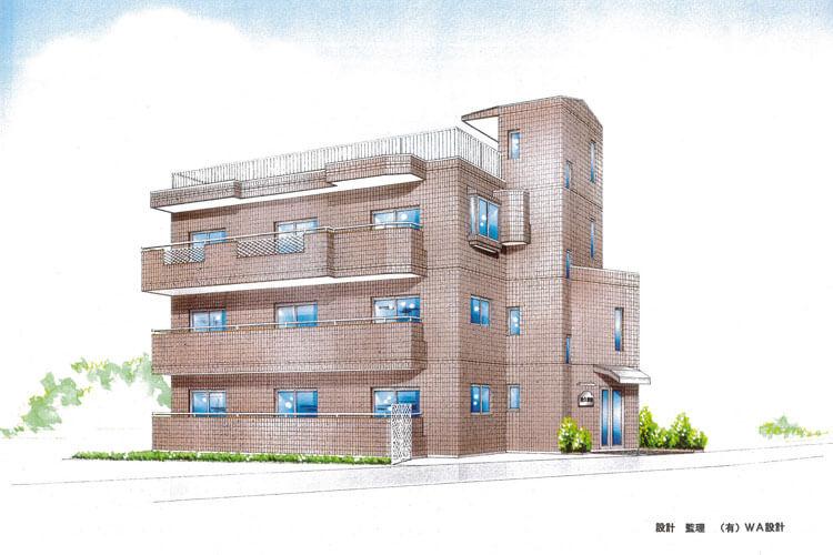 建築パース4
